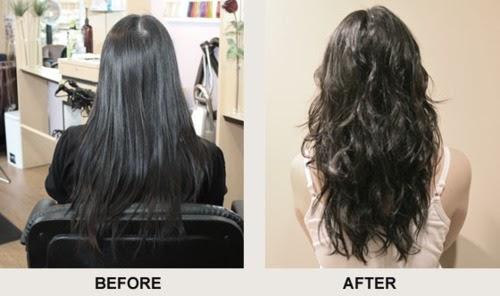Curly Perm Natural Black Hair