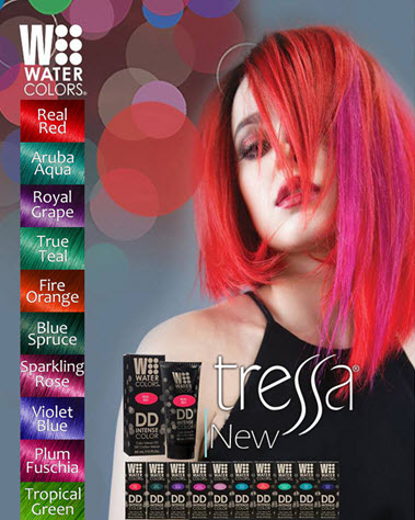 Tressa's NEW, INTENSE watercolors!