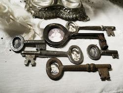 Vintage Photo Keys