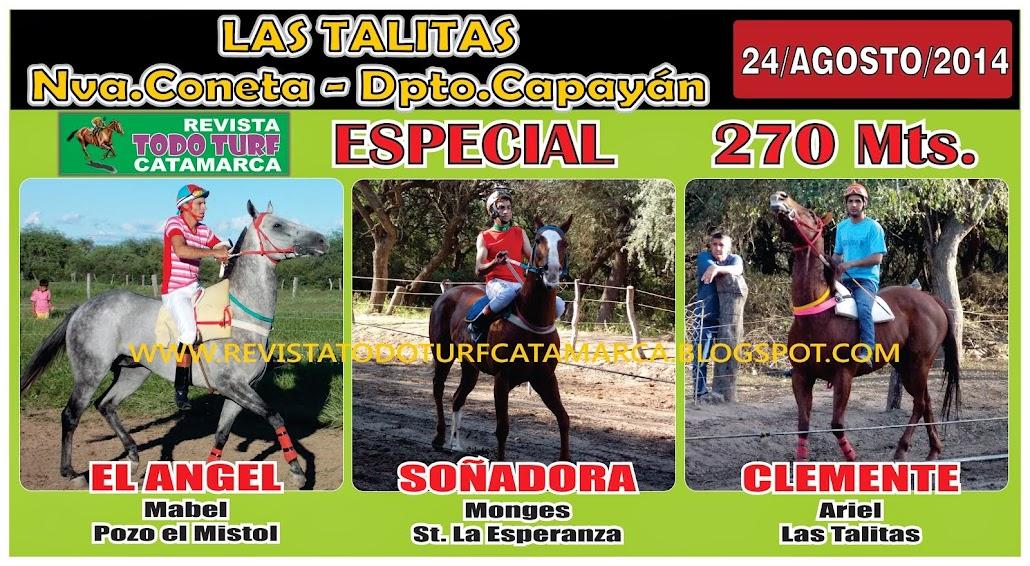 ESPECIAL LAS TALITAS 24/08/2014