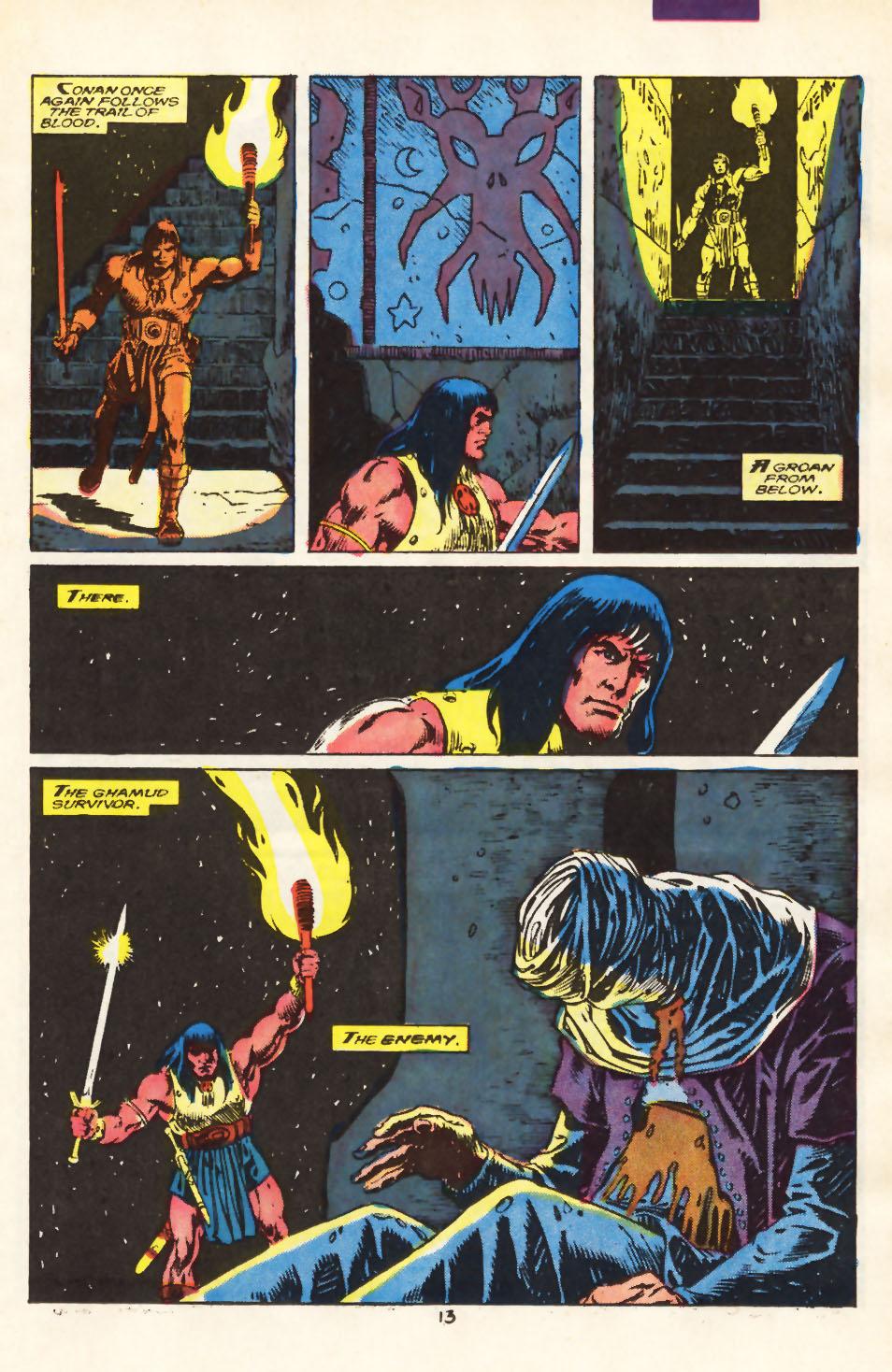 Conan the Barbarian (1970) Issue #212 #224 - English 9