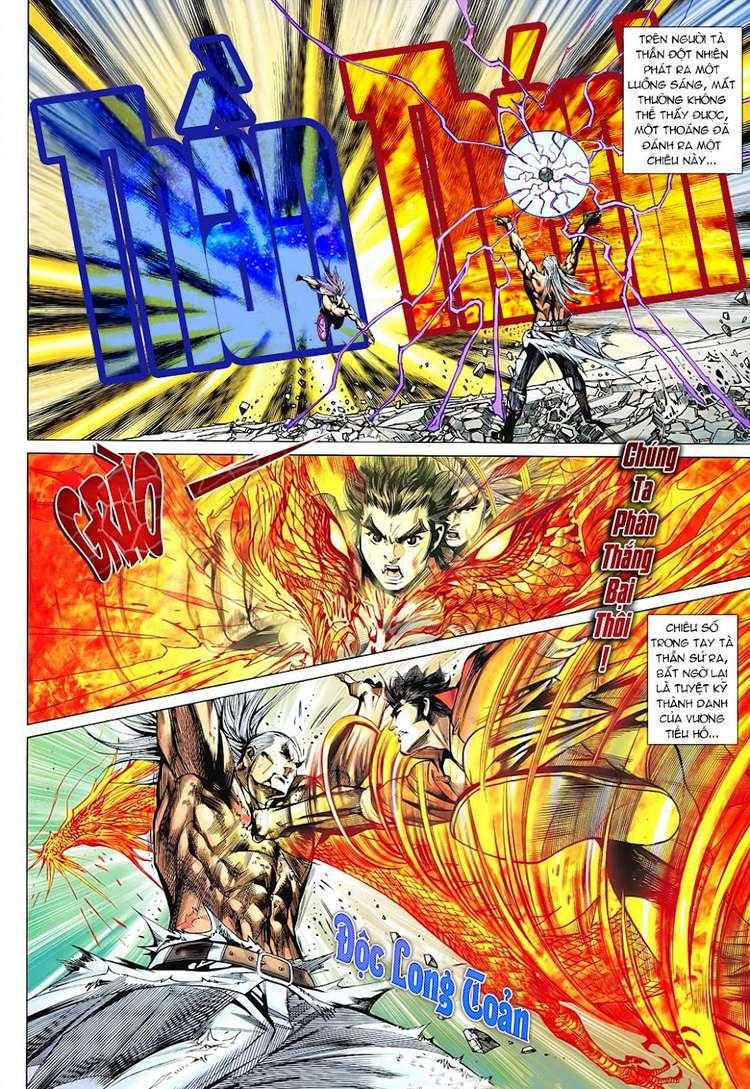 Hỏa Vân Tà Thần II chap 100 Trang 4 - Mangak.info