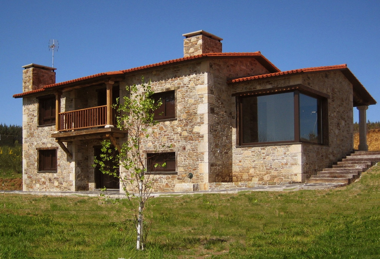 Construcciones r sticas gallegas mirador - Casas rurales de diseno ...
