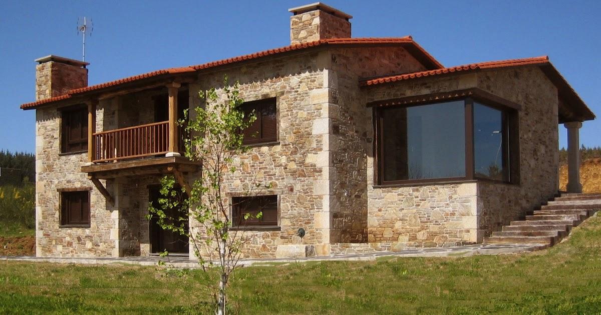 Construcciones r sticas gallegas mirador - Modelos de casas de piedra ...