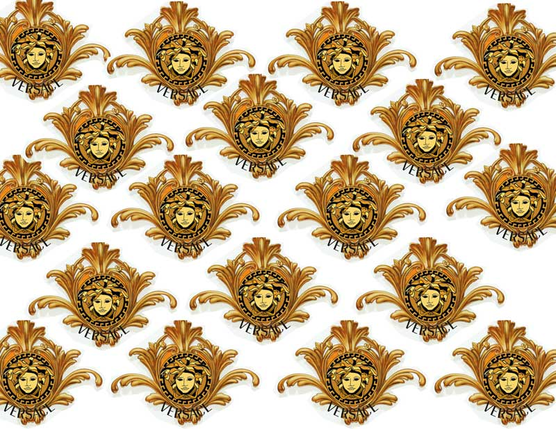 Gold Versace Fabric - ...