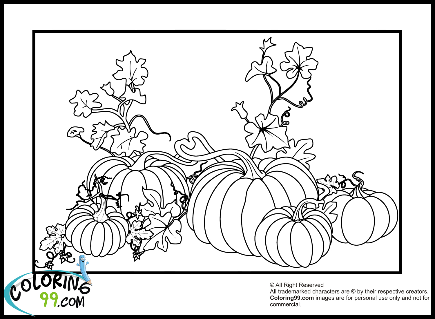 Pumpkin Coloring Pages | Team colors