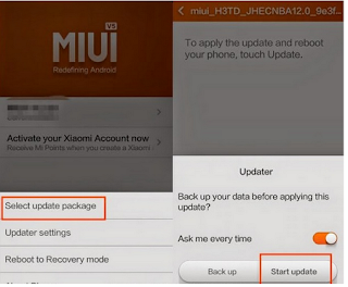 Update ROM Xiaomi Redmi Note