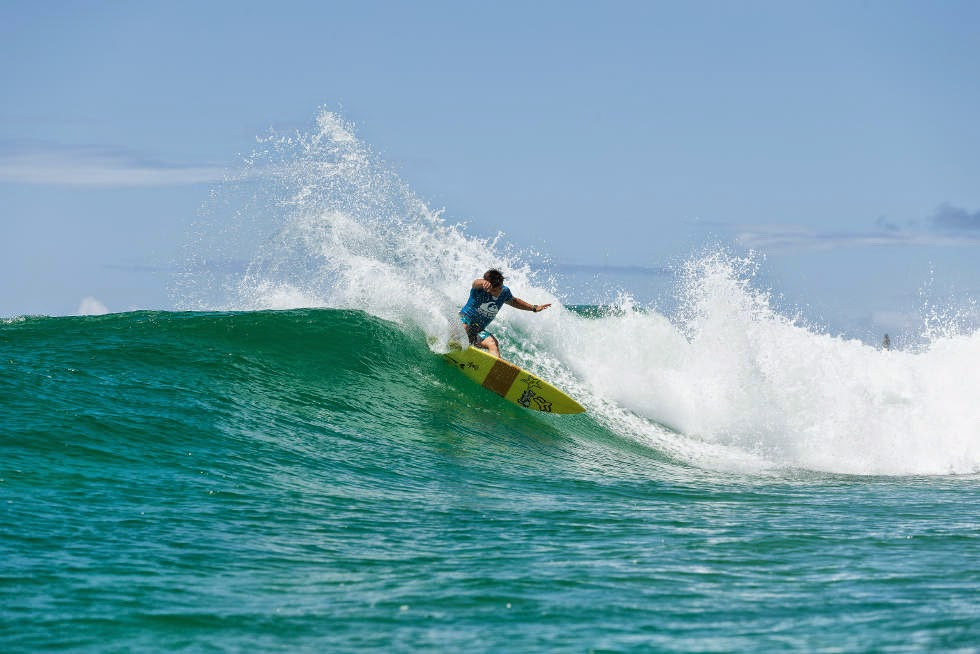 11 Quiksilver Pro Gold Coast 2015 Keanu Asing Foto WSL Kelly Cestari