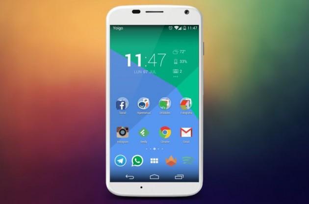 Pon la interfaz de Android L en tu móvil con Moonshine