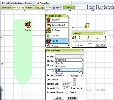 Online tools to plan your vegetable garden