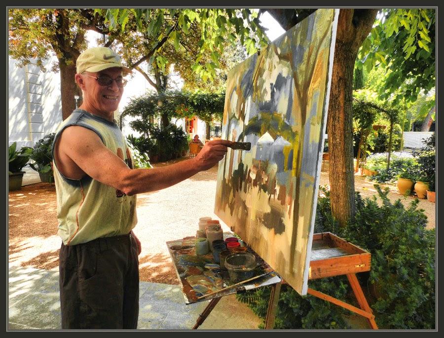 CALDES DE MALAVELLA-PINTURA-PAISATGES-BALNEARI-PRATS-FOTOS-GIRONA-ARTISTA-PINTOR-ERNEST DESCALS-