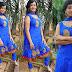 Tejaswini in Sky Blue Salwar kameez