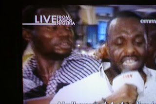 Jim Iyke receives deliverance at TB Joshua's Synagogue Church