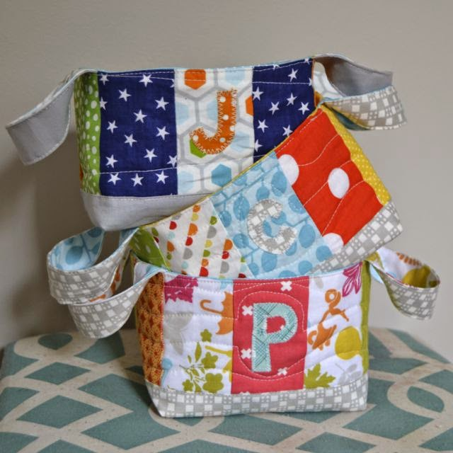 Twelve bees handmade goods quilted easter basket tutorial the construction negle Choice Image