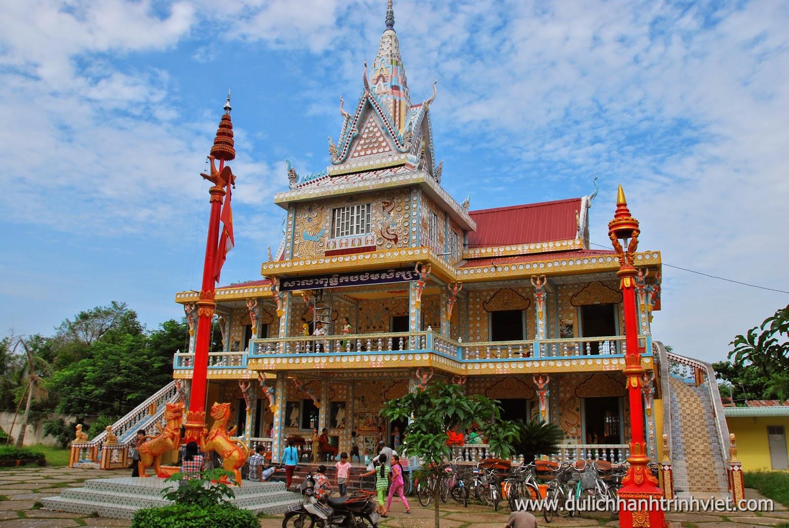 Pagode de style khmer Chen Kieu - province de Soc Trang
