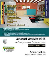 Autodesk 3ds Max 2016: A Comprehensive Guide, 16th Edition