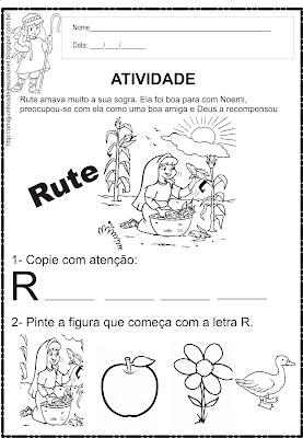 Rute - Atividade Bíblica