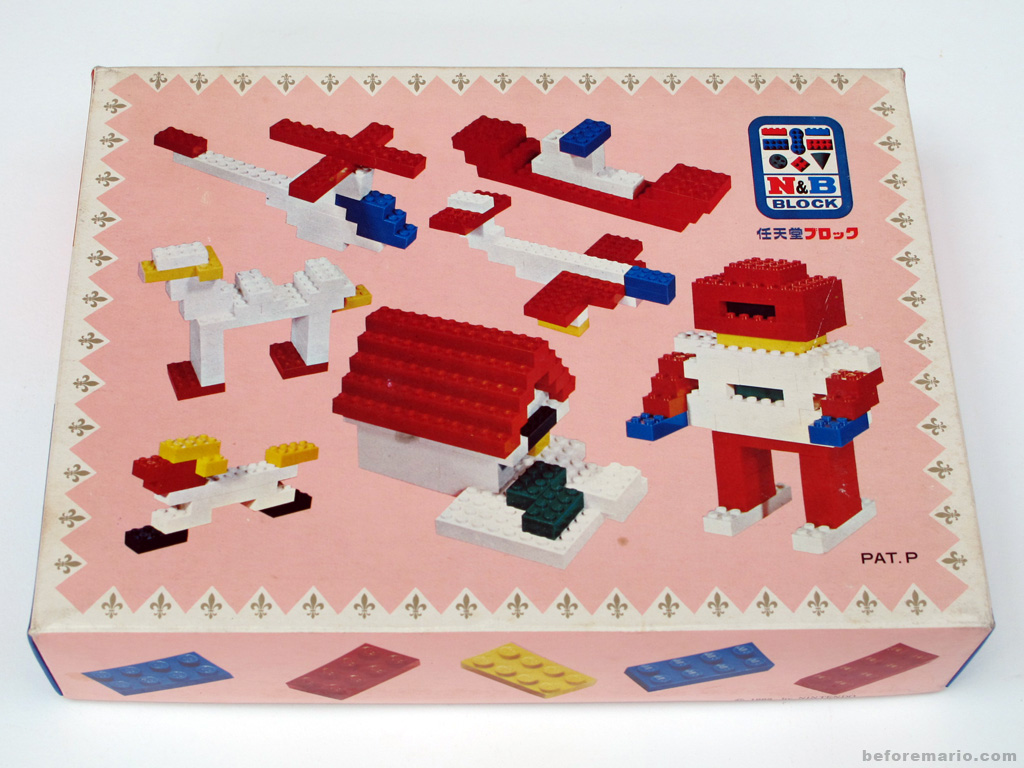Building Toys From The 60s : Beforemario nintendo n b block introduction 任天堂 ブロック