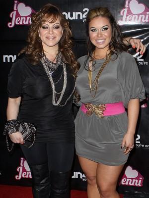 """Jenni Rivera y su hija Janney """"Chiquis"""" Marín"""