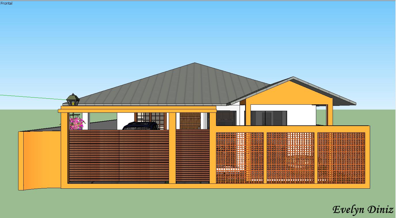 Projetos 3d casa moderna for Casa moderna 11