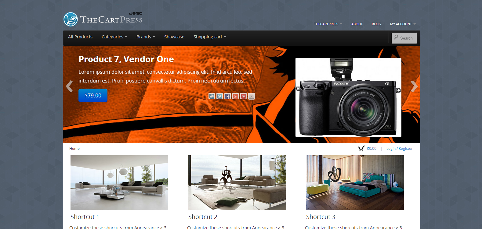 Boot Store Free Premium Responsive WordPress Theme