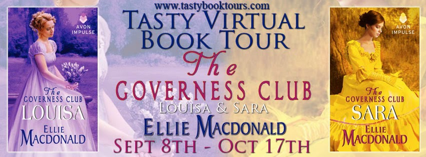 Blog Tour: Spotlight + Excerpt + Giveaway – The Governess Club series by Ellie MacDonald