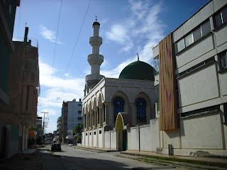 The out-of-place Mosque in Maicao, north-eastern Colombia