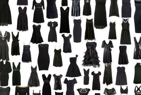 Petite robe en noir
