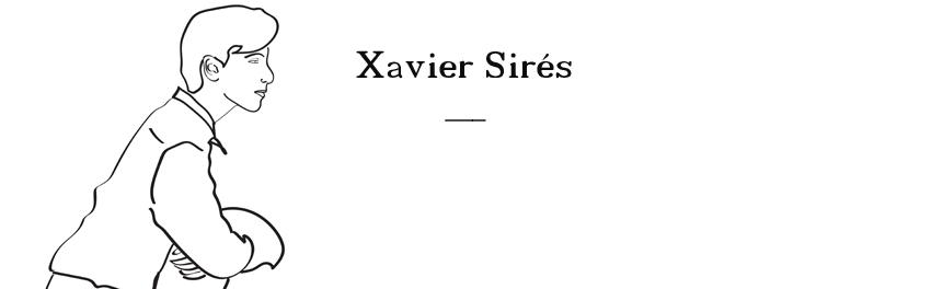 XAVIER SIRÉS: Novela, relato, microcuento, artículo, poema, diario, crítica de cine y literatura...