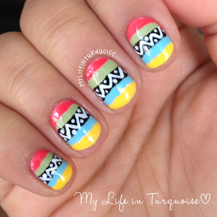 Mexican nail art ledufa original mexican nail art 23 as inspiration article prinsesfo Image collections