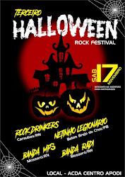 3º HALLOWEEN ROCK FESTIVAL