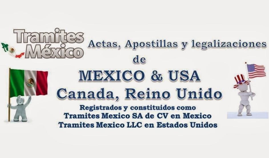 Tramites Mexico: Partidas de Nacimiento Mexicanas