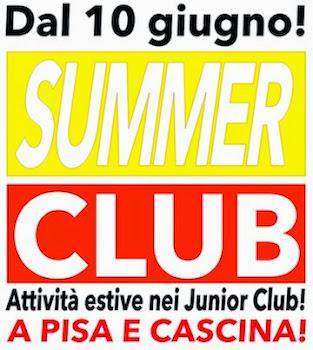 Estate JUNIOR per bambini da 3 a 11 anni!