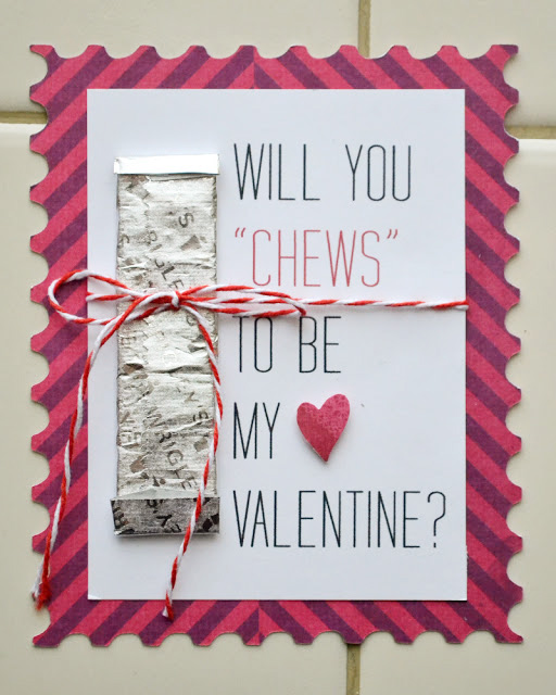 graphic regarding Extra Gum Valentine Printable named Aly Dosdall: Do it yourself valentines guideline (no cost printable)