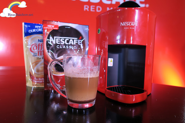 Nescafe Red Mug Coffee Machine