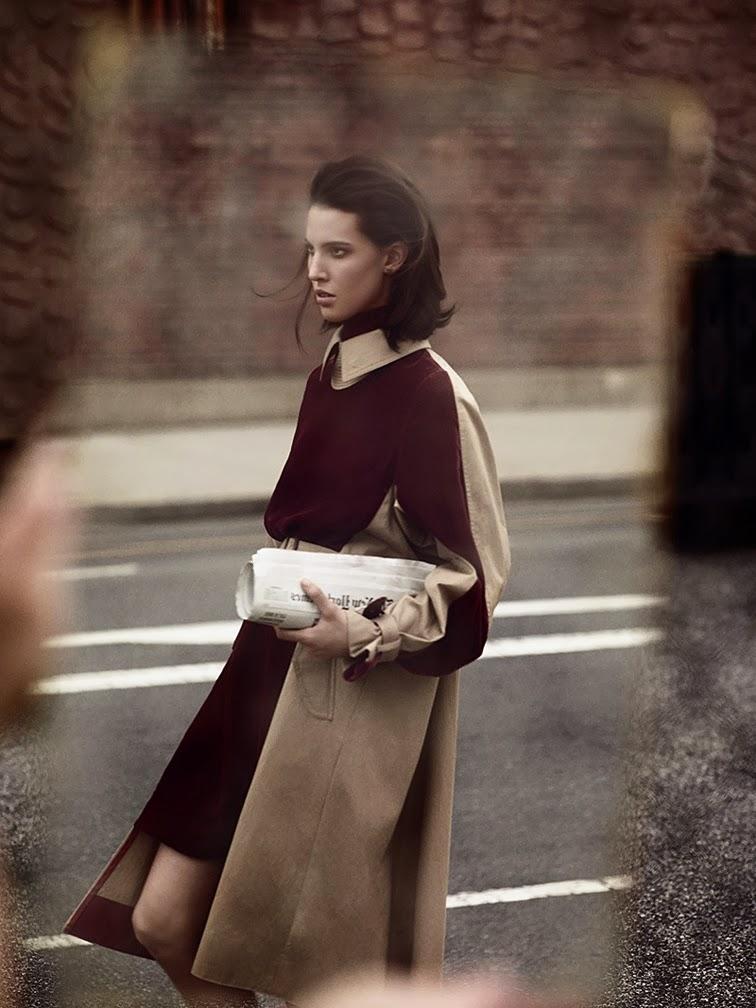 Ruby Aldridge for Vogue Netherlands photographed by Annemarieke Van Drimmelen styled by Dimphy Sen Otter
