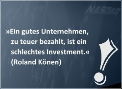 Investiere wie Roland Könen