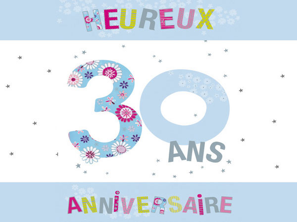 texte anniversaire 30 ans sms d 39 anniversaire. Black Bedroom Furniture Sets. Home Design Ideas