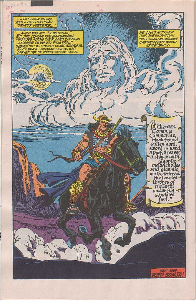 Conan the Barbarian (1970) Issue #240 #252 - English 23