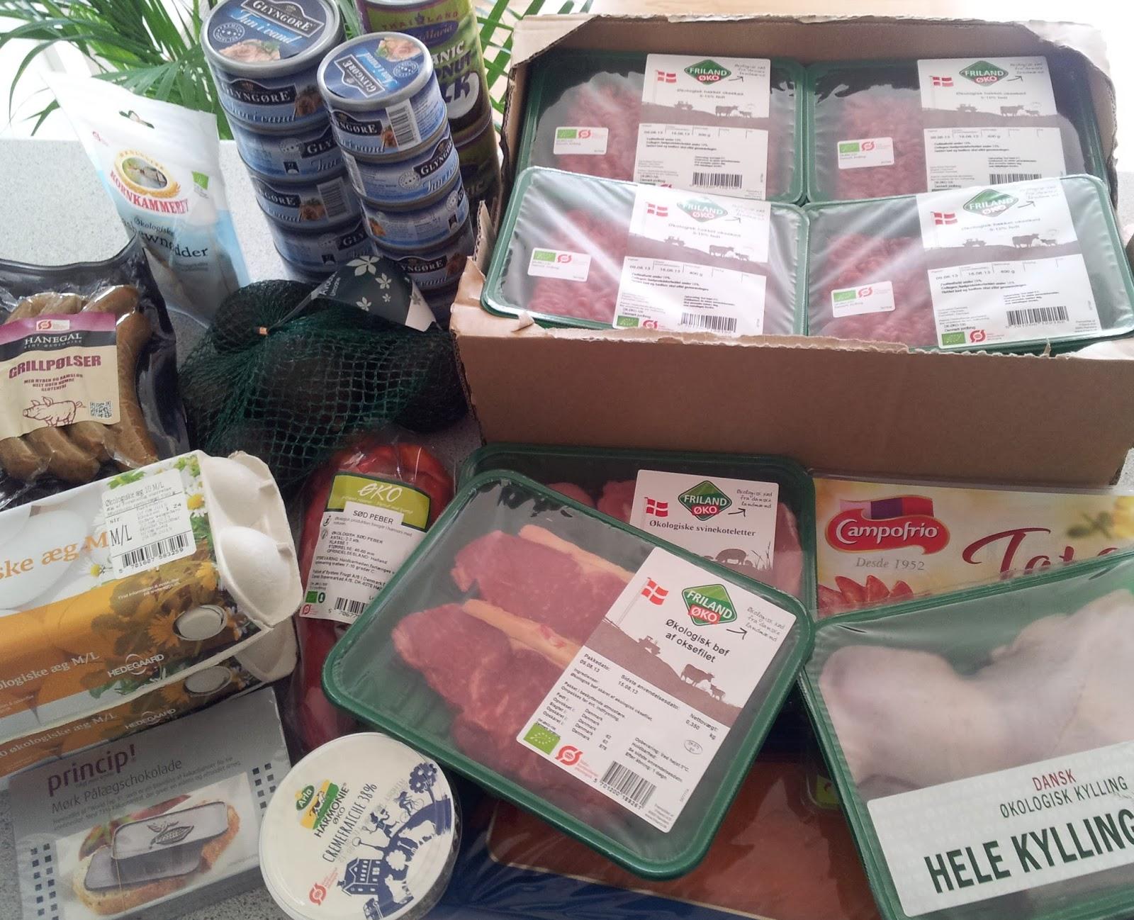 økologisk hakket oksekød tilbud