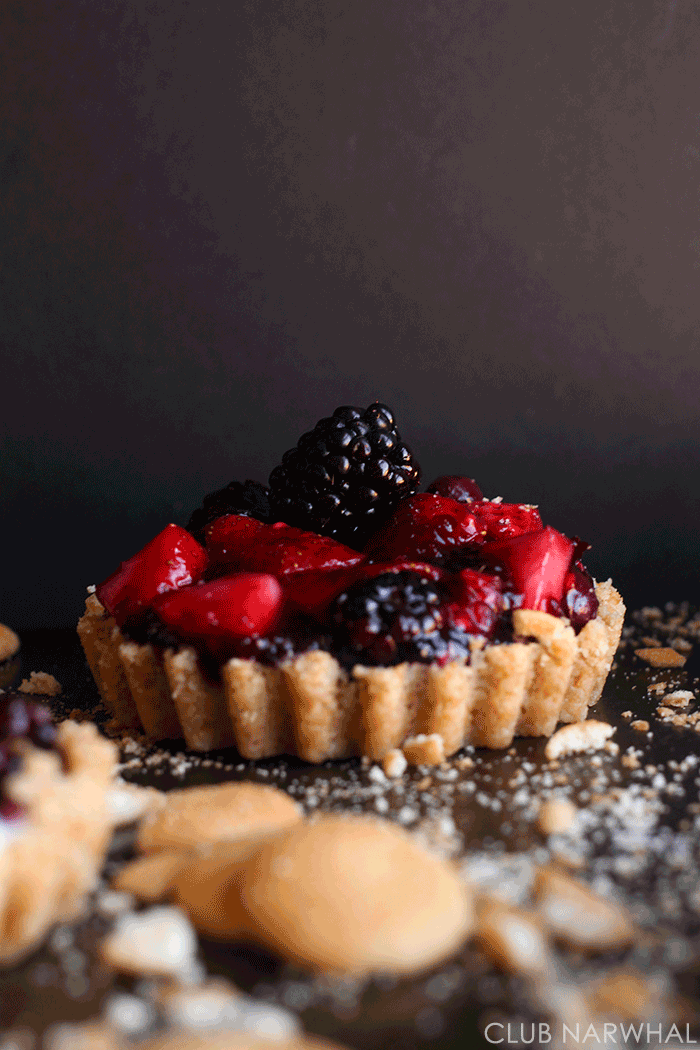 Easy Triple Berry Tarts | Club Narwhal