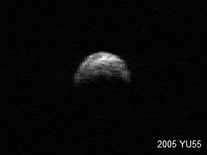 asteroide 2005 YU55