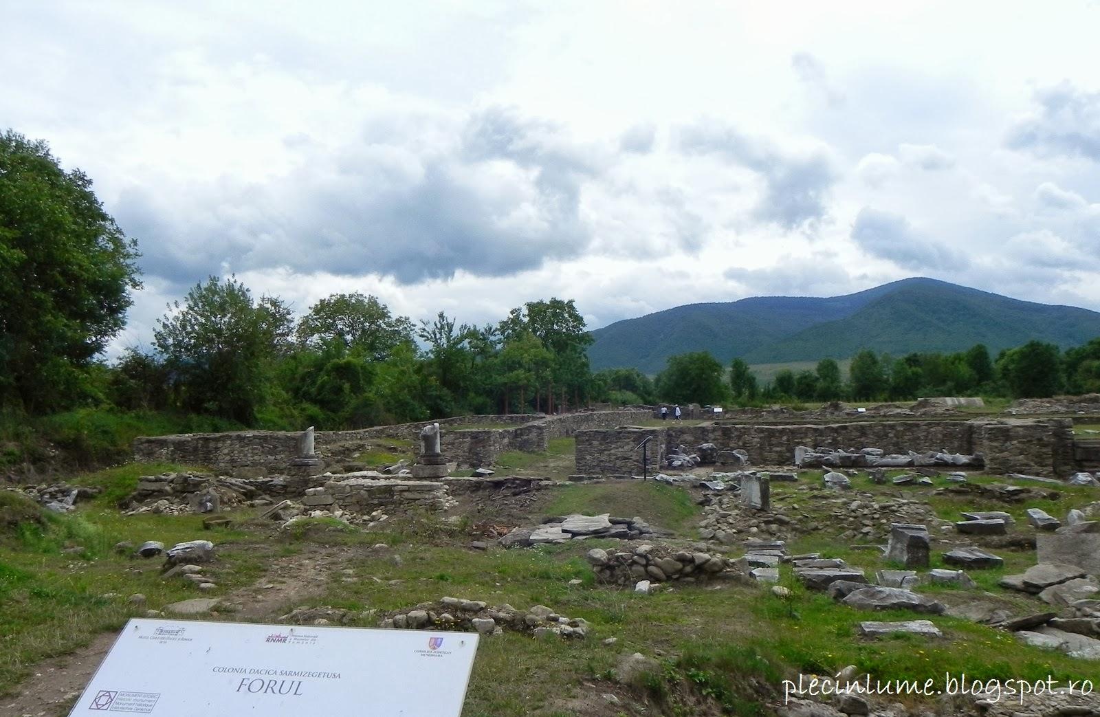 Forul din Ulpia Traiana