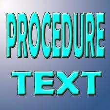 Pengertian teks prosedur Kompleks - BRIGADE 86 - Cara ...
