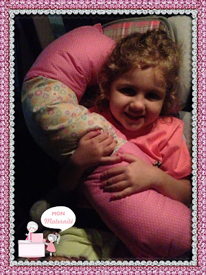 almofada para cadeira de automóvel infantil mon maternité