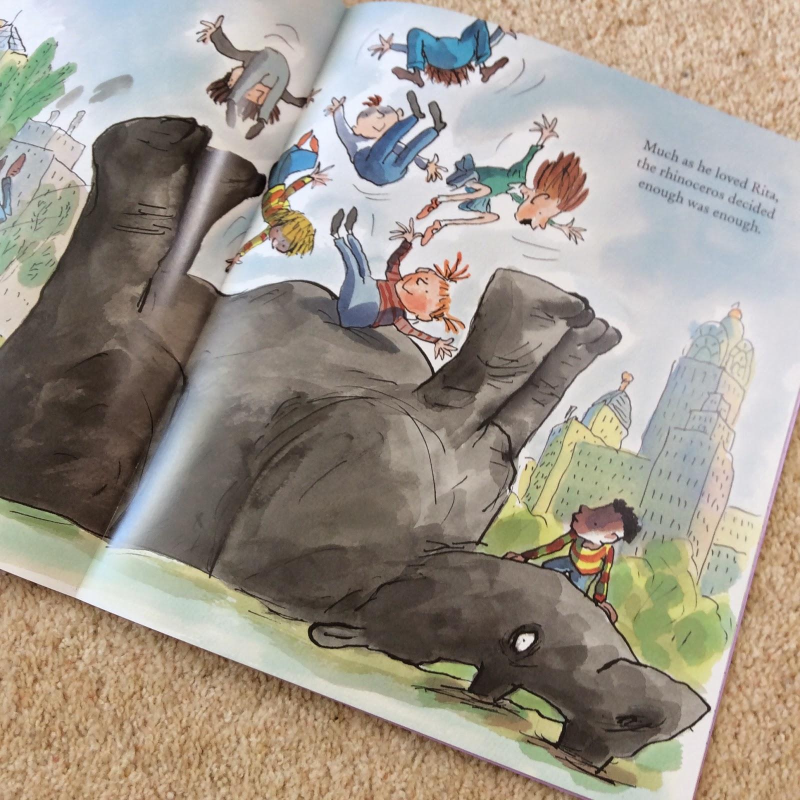 Illustration from Rita's Rhino by Tony Ross