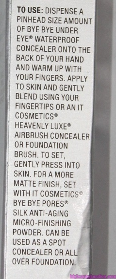 4d919f56cd62a ... IT Cosmetics Bye Bye Under Eye Anti-Ageing Concealer review