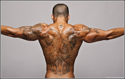 Back Japan Tattoos In Back For Men