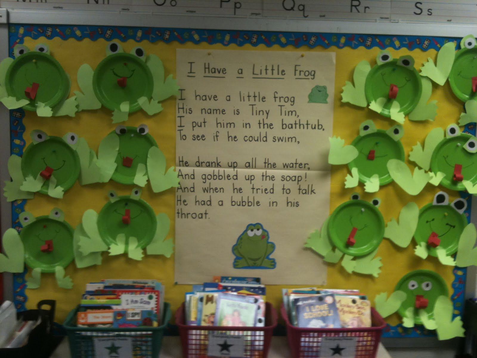 Classroom Craft Idea : First grade best frog and toad