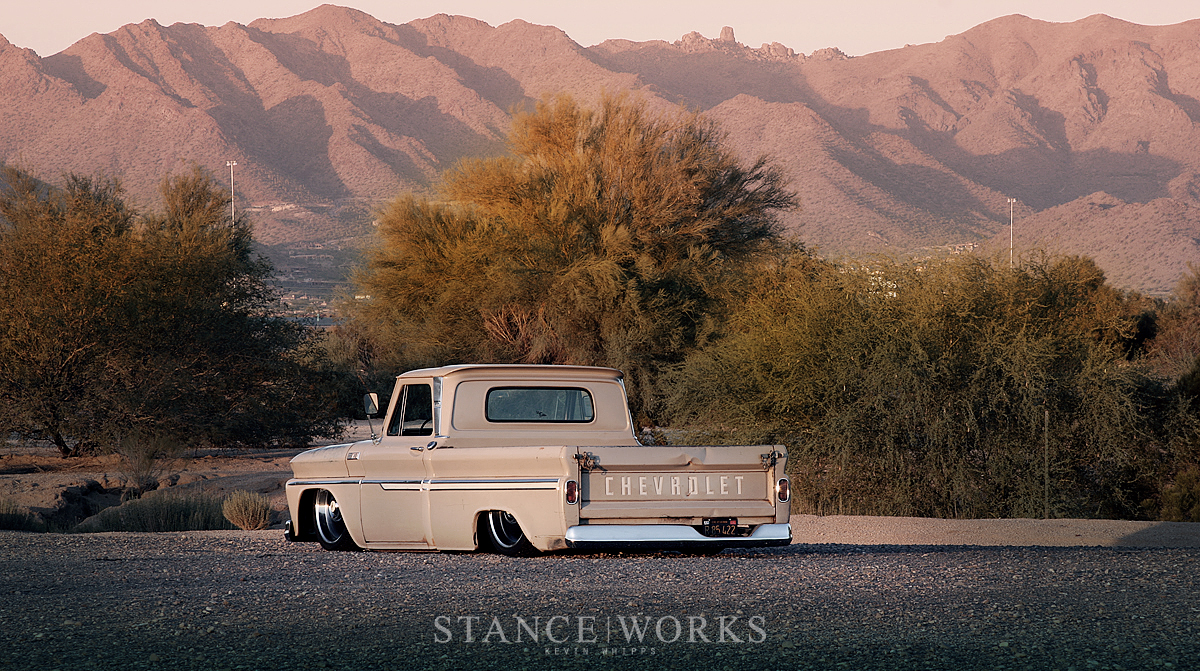 Ruote Rugginose Stance Works Slammed Chevy C10